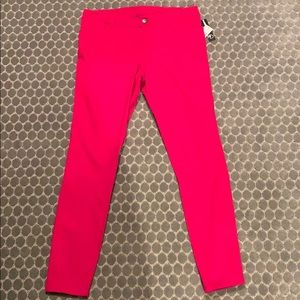 NWT New Directions Raspberry colored jeans. Sz12.